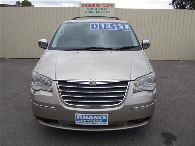 2009 CHRYSLER GRAND VOYAGER LIMITED RT 4D WAGON
