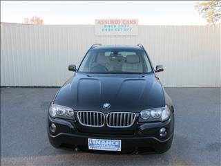2009 BMW X3 xDRIVE 25i LIFESTYLE E83 MY09 4D WAGON