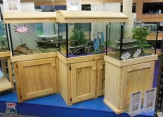 """YXY2 Cabinet, Aquarium Tank, cover & foam 2ftx12""""Wx18""""H (reduced to clear, while stocks last)"""