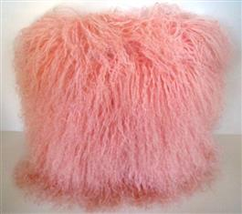 XWX2 High Quality Mongolian Fur Cushions in 4 colours (reduced to clear, while stocks last)