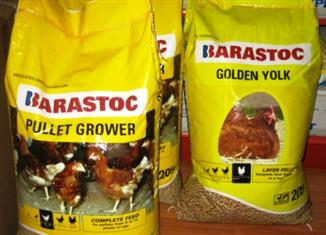 Bulk Chickens feed Barastock & Others. (reduced to clear, while stocks last)