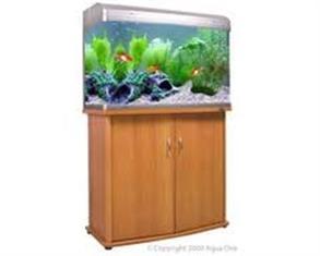 YXY2 Fish Tank - Aqua One AR850 Aquarium (blk or Silver) (reduced to clear, while stocks last)