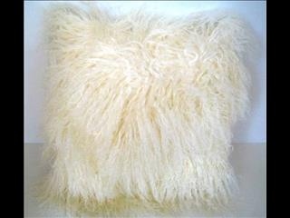 XWX2 Fur Cushions in Natural, Mauve, Pink, Chocolate (reduced to clear, while stocks last)