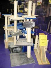 WXW2 Cat Scratch Posts Galore & Many Accessories Too