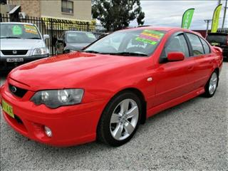 2006 Ford Falcon XR6 BF MkII Sedan