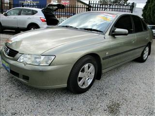 2002 Holden Commodore Acclaim VY Sedan