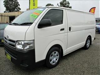 2013 Toyota Hiace LWB KDH201R MY12 Upgrade Van
