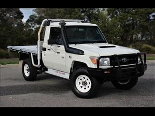 2012 TOYOTA LANDCRUISER WORKMATE (4x4) VDJ79R MY12 UPDATE C/CHAS
