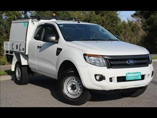 2014 FORD RANGER XL 3.2 (4x4) PX SUPER C/CHAS
