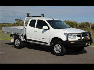 2015 HOLDEN COLORADO LS (4x4) RG MY15 SPACE C/CHAS