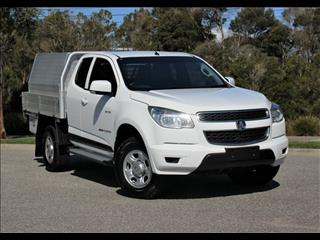 2014 HOLDEN COLORADO LX (4x4) RG MY14 SPACE C/CHAS