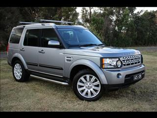 2012 LAND ROVER DISCOVERY 4 3.0 SDV6 HSE MY12 4D WAGON