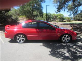 2000 FORD FALCON XR6 AUII 4D SEDAN