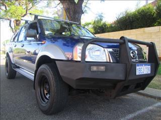 2002 NISSAN NAVARA ST-R 4X4 D22 DUAL CAB PUP