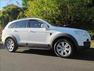 2007 HOLDEN CAPTIVA LX 4X4 CG MY08 4D WAGON