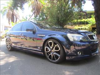 2007 HOLDEN CAPRICE  WM MY08 4D SEDAN