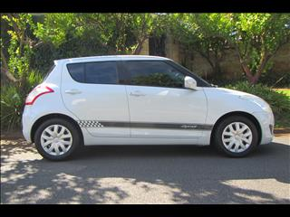 2012 SUZUKI SWIFT GA FZ 5D HATCHBACK