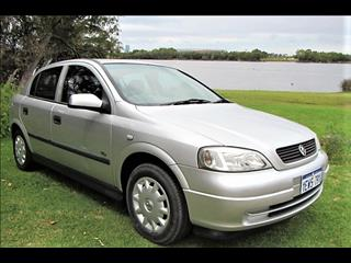 2003 HOLDEN ASTRA CITY TS 5D HATCHBACK