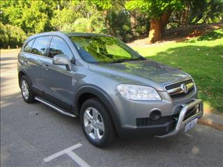 2009 HOLDEN CAPTIVA SX 4X4 CG MY09 4D WAGON