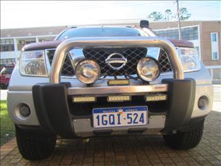 2007 NISSAN NAVARA ST-X 4X4 D40 DUAL CAB PUP