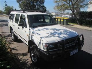 2004 TOYOTA HILUX 4X4 LN167R DUAL CAB PUP