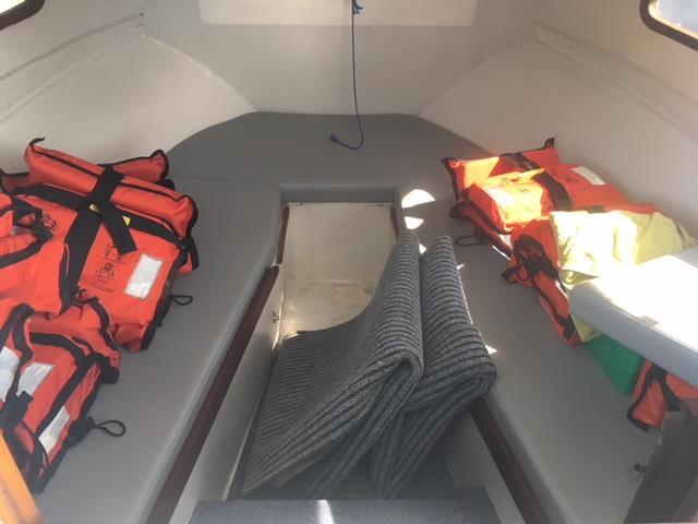 IN SURVEY 6.0m Cuddy Cabin