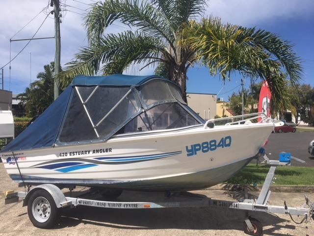 Quintrex 420 Estuary Angler