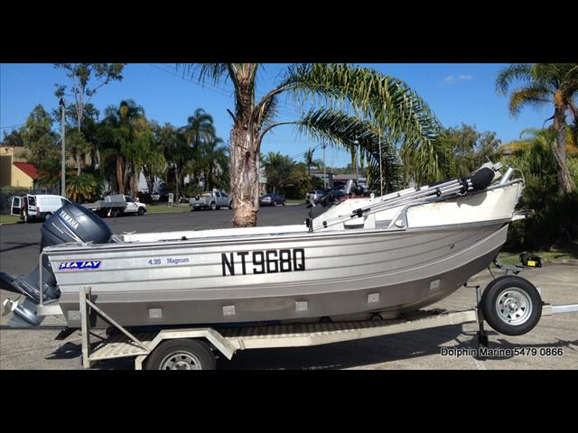 2003 Sea Jay 435 Magnum Centre Console, powered by a 2007 Yamaha F40