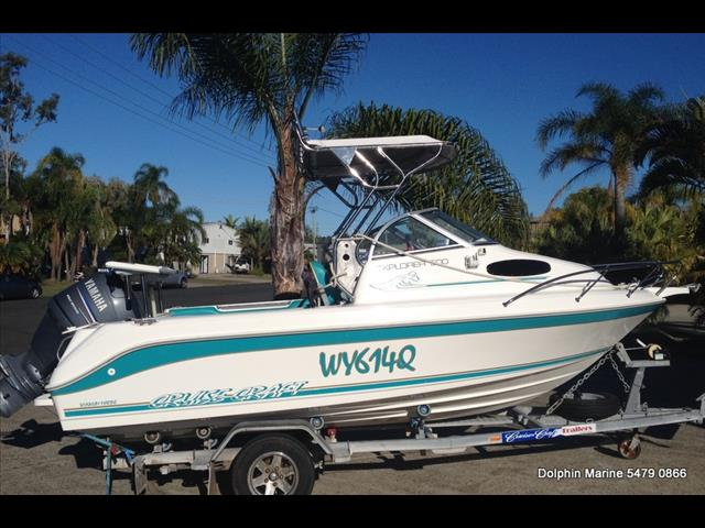 Cruise Craft Explorer 500 Yamaha F100