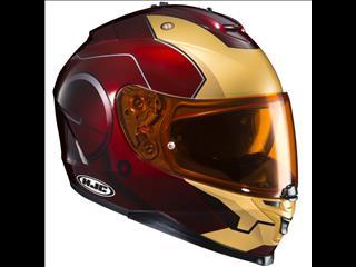 HJC IS-17 Marvel Ironman Helmet
