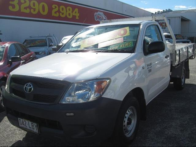 2008 TOYOTA HILUX WORKMATE TGN16R CAB CHASSIS