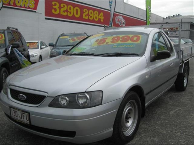 2004 FORD FALCON UTE XL BA CAB CHASSIS