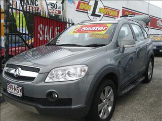 2010 HOLDEN CAPTIVA LX CG WAGON