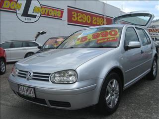 2003 VOLKSWAGEN GOLF S 4th Gen HATCHBACK