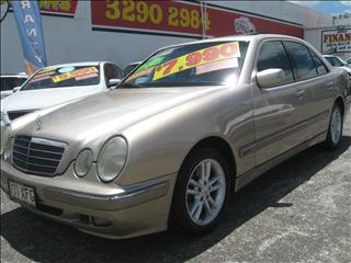 2001 MERCEDES-BENZ E320 Elegance W210 SEDAN
