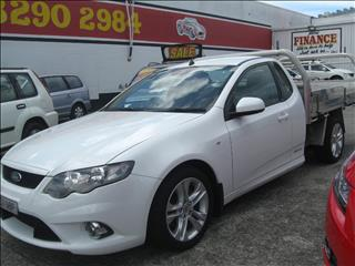2009 FORD FALCON UTE XR6 FG CAB CHASSIS