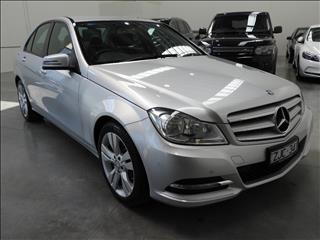 2012 MERCEDES-BENZ C200 BE W204 MY12 4D SEDAN