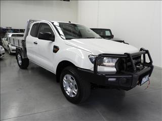 2015 FORD RANGER XL 3.2 (4x4) PX MKII SUPER CAB CHASSIS