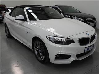 2016 BMW 2 20i M-SPORT F23 MY16 2D CONVERTIBLE