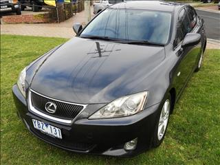 2005 LEXUS IS250 PRESTIGE GSE20R 4D SEDAN