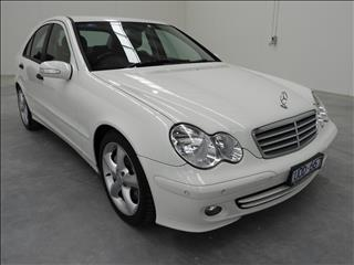2006 MERCEDES-BENZ C180 KOMPRESSOR CLASSIC W203 MY07 UPGRADE 4D SEDAN