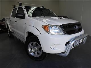 2007 TOYOTA HILUX SR (4x4) KUN26R 07 UPGRADE DUAL CAB P/UP