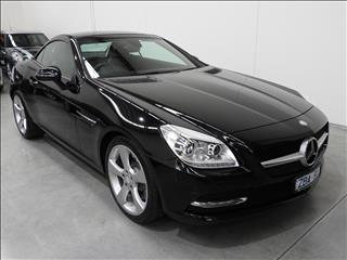 2012 MERCEDES-BENZ SLK 350 BE R172 2D CONVERTIBLE