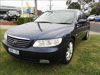 2007 HYUNDAI GRANDEUR LIMITED TG 4D SEDAN
