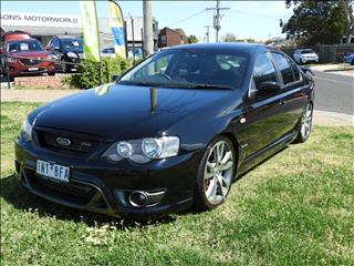 2007 FORD FPV F6 TYPHOON R SPEC BF MKII 4D SEDAN