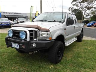 2005 FORD F250 XLT (4x4) RN SUPER CAB P/UP