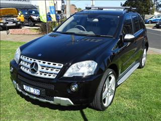 2009 MERCEDES-BENZ ML 350 SPORTS (4x4) W164 09 UPGRADE 4D WAGON