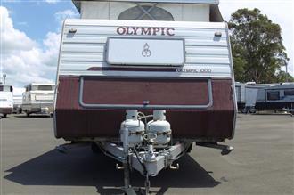 2000 Olympic 1000 Pop-Top Caravan
