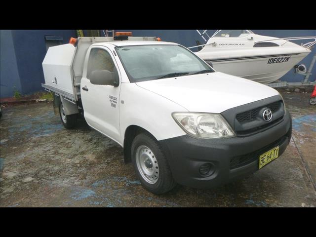 2010 Toyota Hilux Workmate TGN16R MY10 Cab Chassis