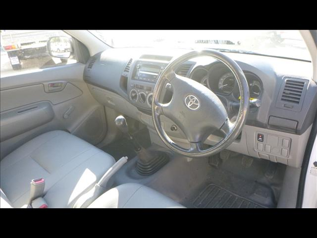 2009 Toyota Hilux Workmate TGN16R MY09 Cab Chassis